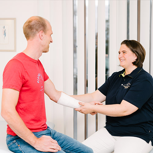 Hausarzt Fischbachau - Dr. Chrobok - Wundversorgung in unserer Praxis